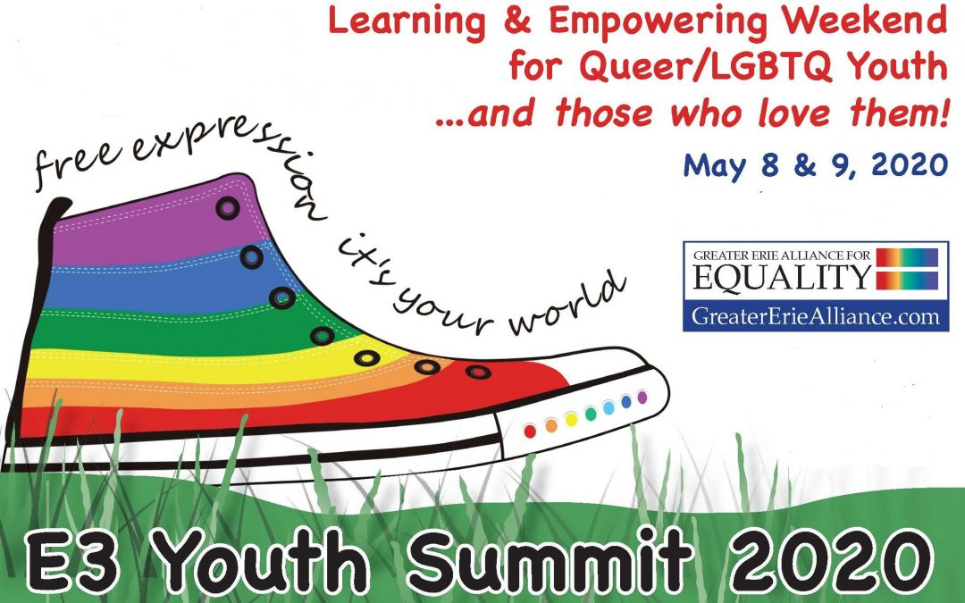 E3 LGBTQ Youth Summit 2020–moved to the Fall 2020